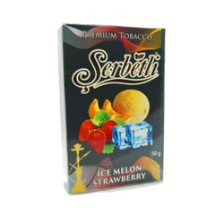 Тютюн Serbetli Ice Strawberry Melon 50g
