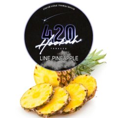 Тютюн 420 Dark Line Pineapple 100g